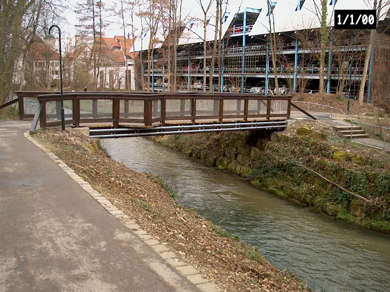 Projekt Fußgängerbrücke