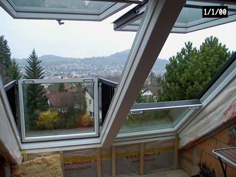 Projekt velux dachfenster renz holzbau gmbh - Velux dachfenster balkon ...
